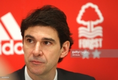 Aitor Karanka is unveiled as the new Nottingham Forest manager.